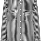 Equipment Striped Silk Shirt