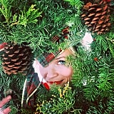 """Reese hopped on the holiday trend, started by Mindy Kaling, of having a """"Wreath Witherspoon."""""""