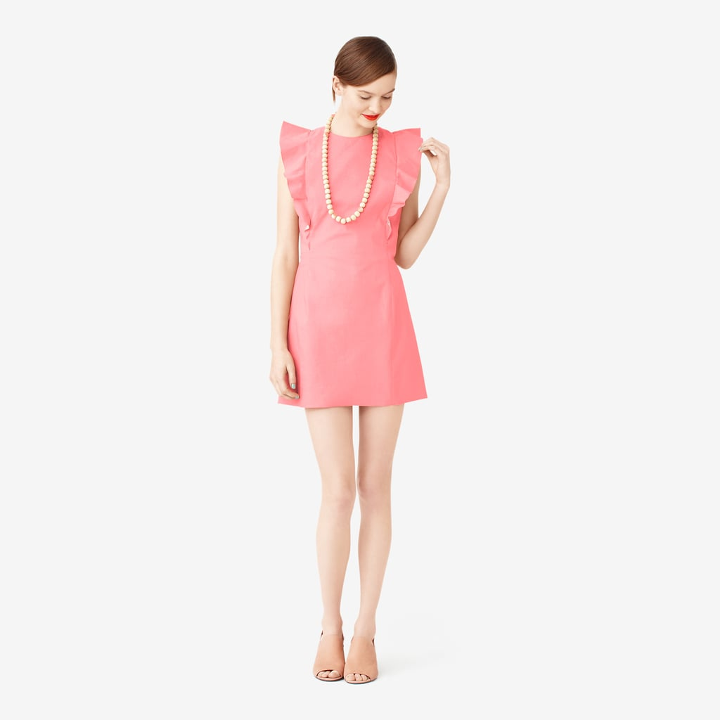 Kate Spade Saturday pink ruffle-sleeve dress ($170)