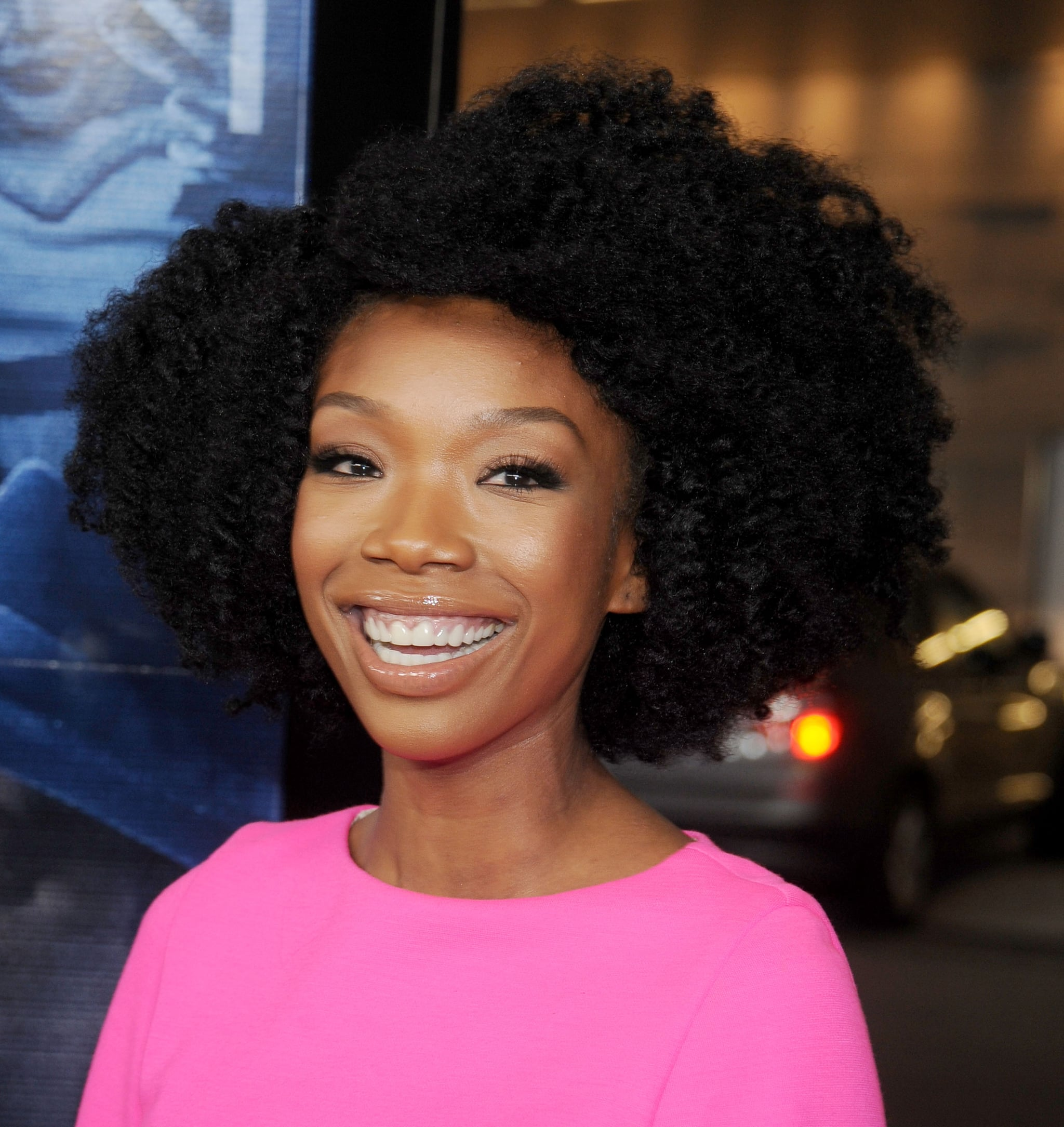 Brandy Norwood Our Favorite Beauty Savvy Stars Flock To