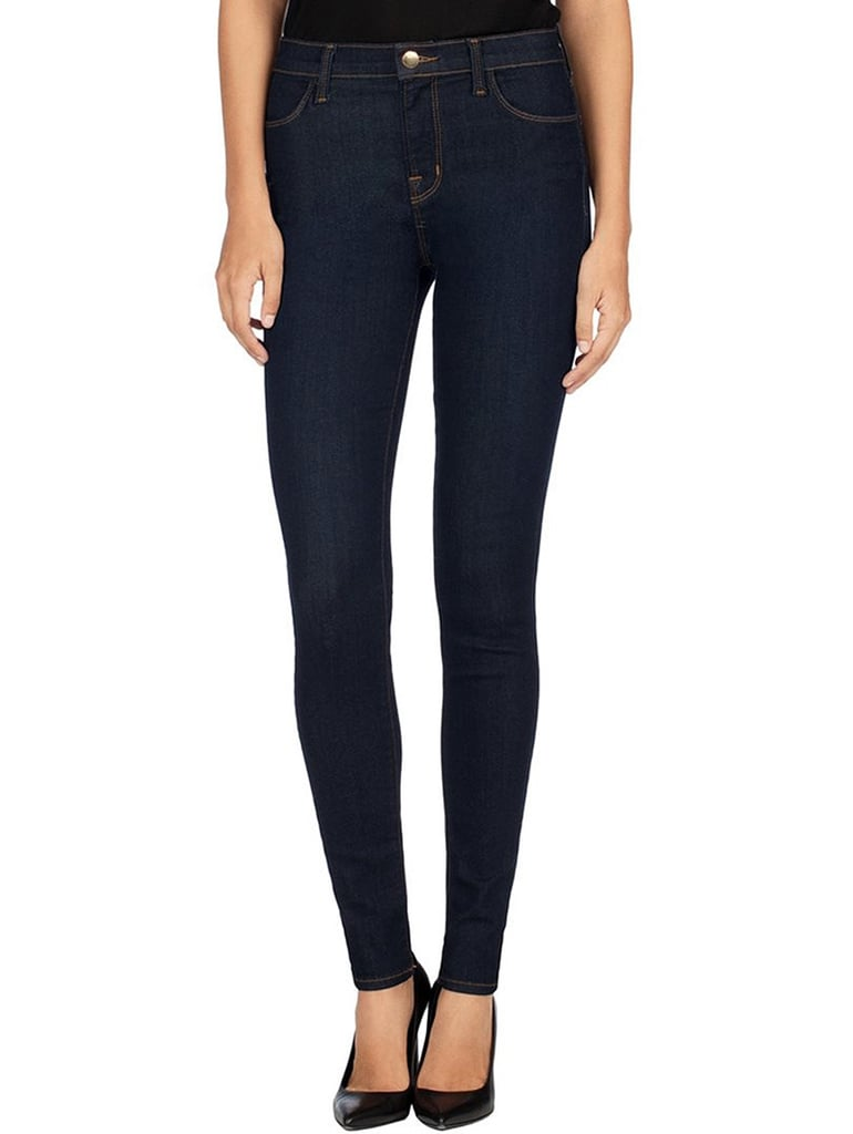 J Brand JBRAND 23110 Maria High-Rise Skinny in After Dark ($188)