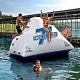 Iceberg Inflatable Climbing Wall and Water Slide