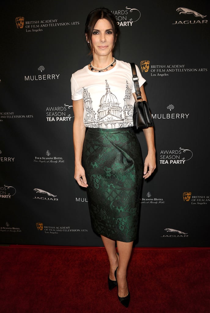 Sandra Bullock at the BAFTA Awards Season Tea Party