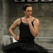 Jim Carrey Playing Black Swan Video