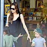 Pictures of Angelina Jolie and Kids