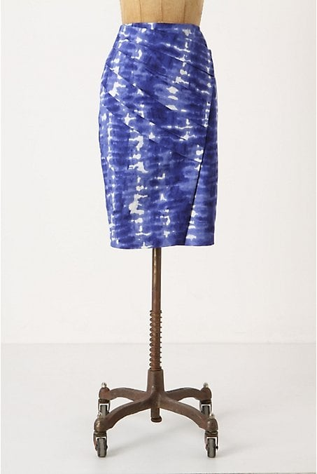 Chic and funky.  Anthropologie Araca Pencil Skirt ($80, originally $150)
