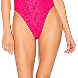 Motel's Valentina One Piece ($60) is bright enough to be seen for miles.