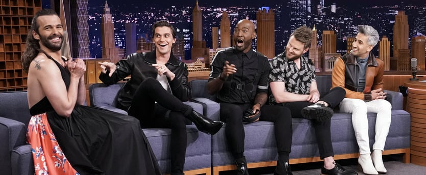 Queer Eye's Fab Five on The Tonight Show July 2019 Video