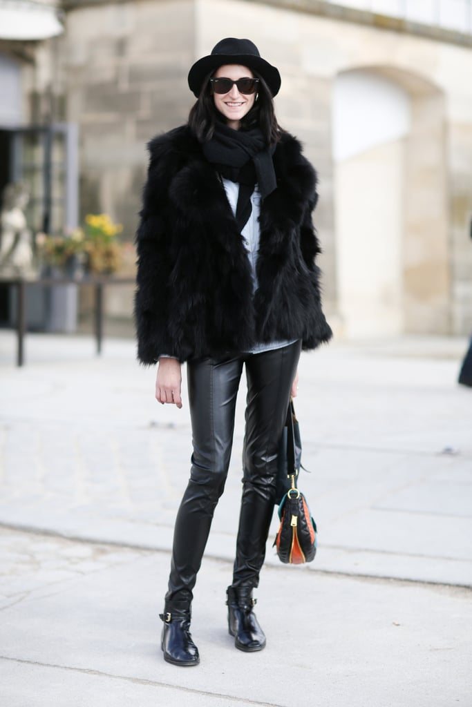 PFW Model Street Style Day Eight