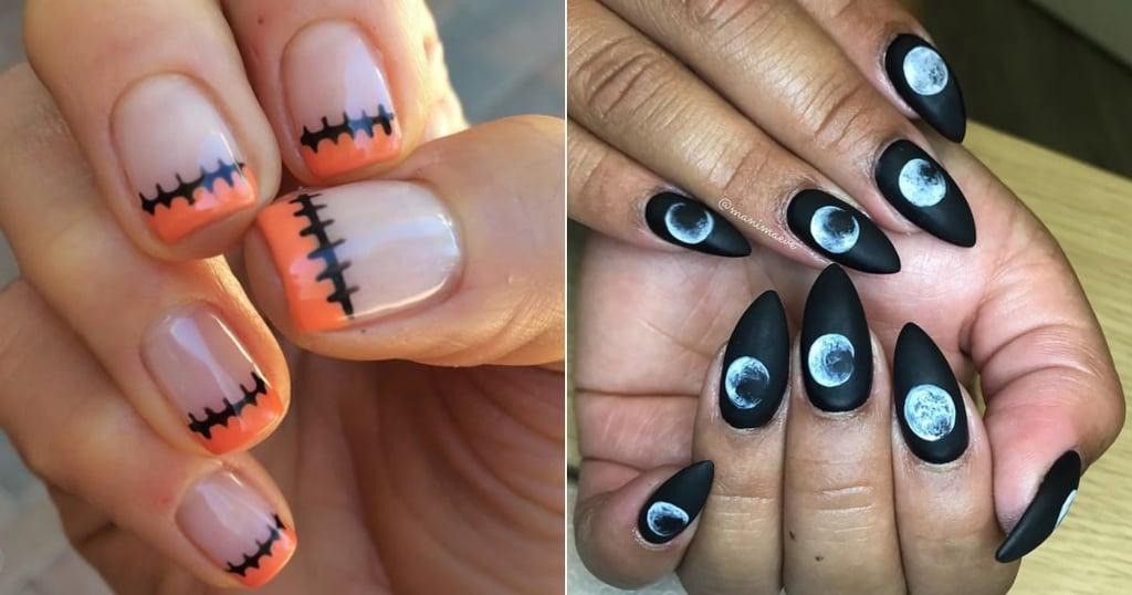 Easy DIY Halloween Nails