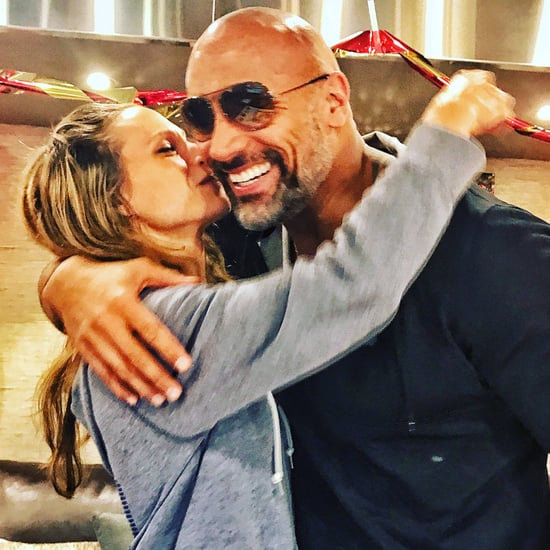 Dwayne Johnson's Birthday Message For Lauren Hashian 2017