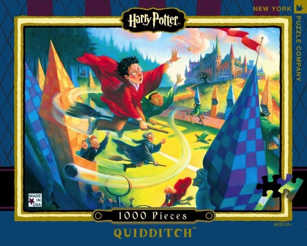 New York Puzzle Company Harry Potter Quidditch Puzzle