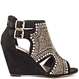 Betsey Johnson Studded Wedge Bootie ($150)