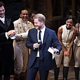 Prince Harry Sings a Song From Hamilton