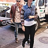 Katy Perry and John Mayer were spotted on a lunch date in NYC's West Village.