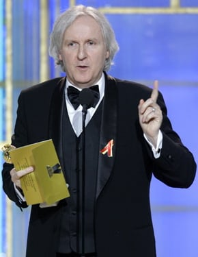James Cameron Is the 2010 Golden Globe Award Winner For Best Director 2010-01-17 19:21:15