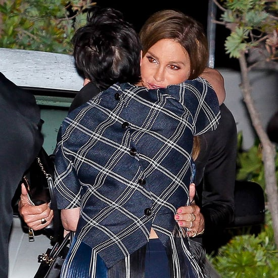 Pictures: Caitlyn Kris Jenner Hug at Kylie's Birthday Dinner