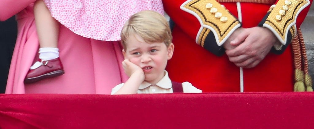 Prince George Was Done With Trooping the Colour Before It Even Started