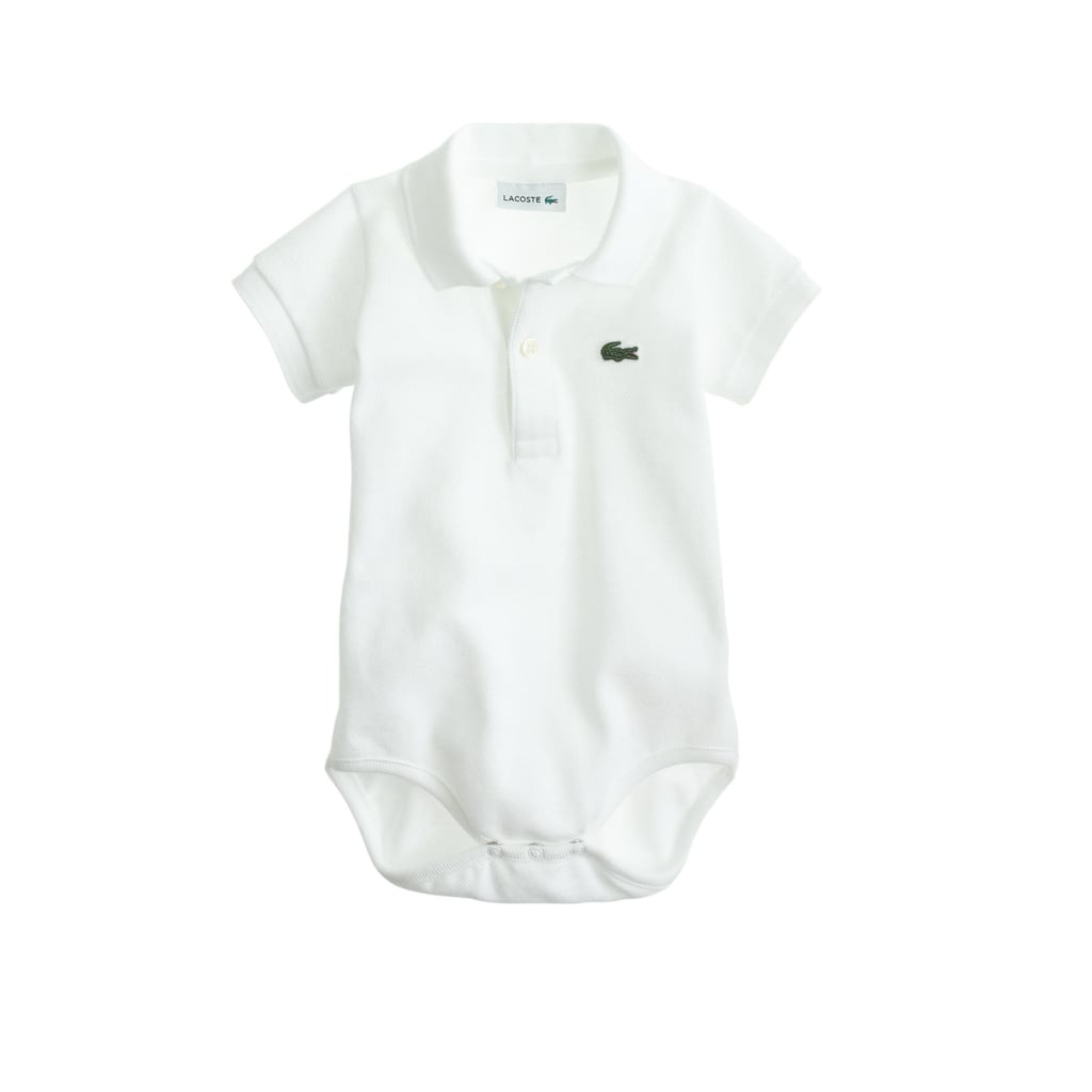 J.Crew Baby Lacoste Polo One-Piece