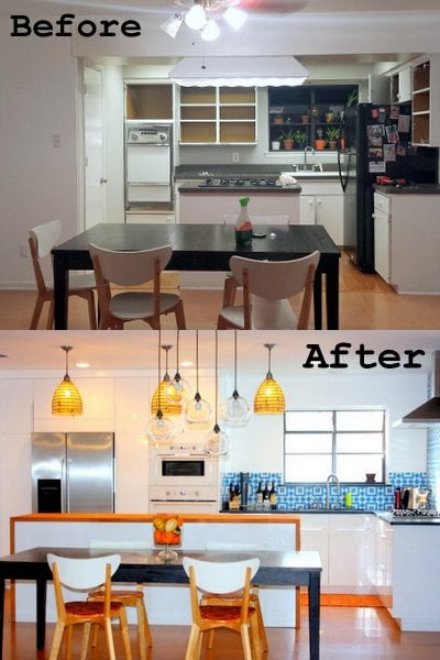 ikea cozy modern top 10 before and after kitchen projects of 2014