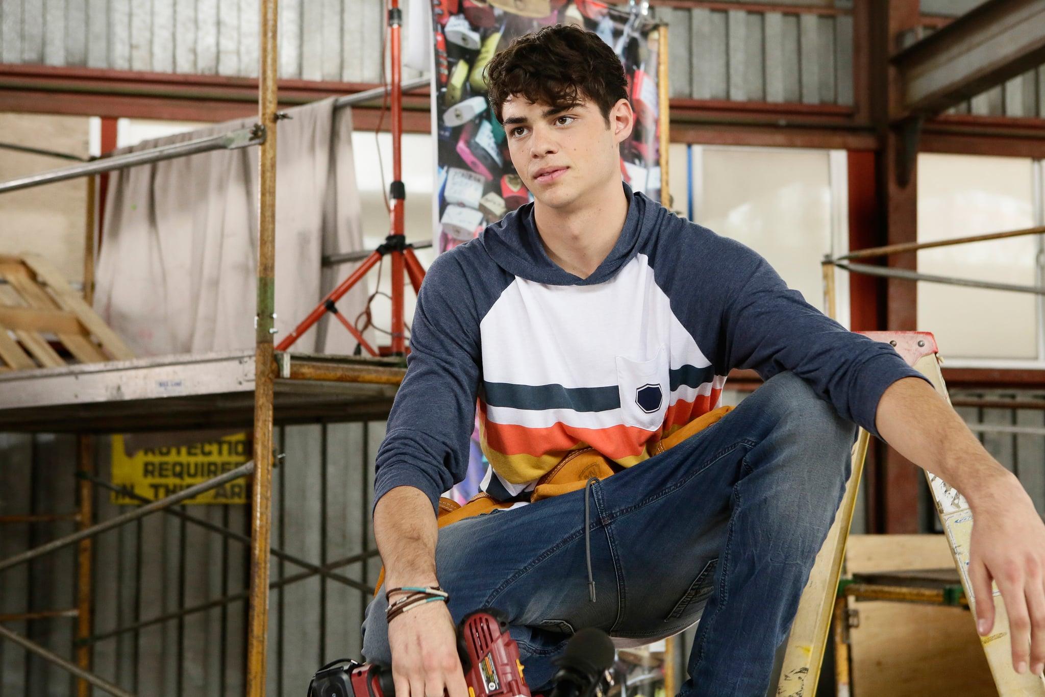 THE FOSTERS, Noah Centineo in 'Rehearsal' (Season 3, Episode 18, aired March 14, 2016). ph: Nicole Wilder/Freeform/courtesy Everett Collection