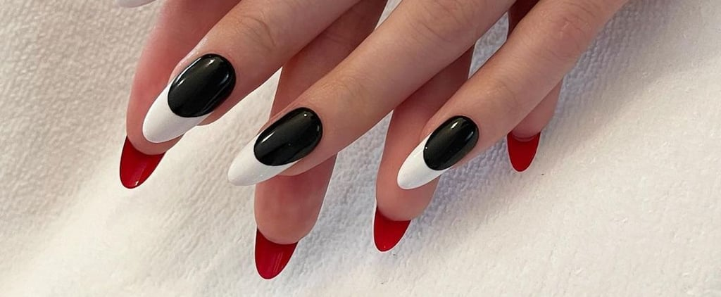 """""""Flipside"""" Nail Art Ideas For Painting the Back of the Nails"""