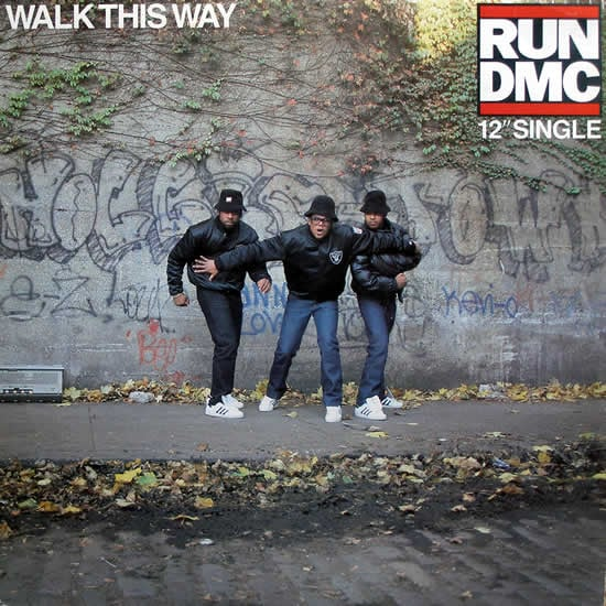 """""""Walk This Way"""" by Run-D.M.C. Featuring Steven Tyler and Joe Perry"""