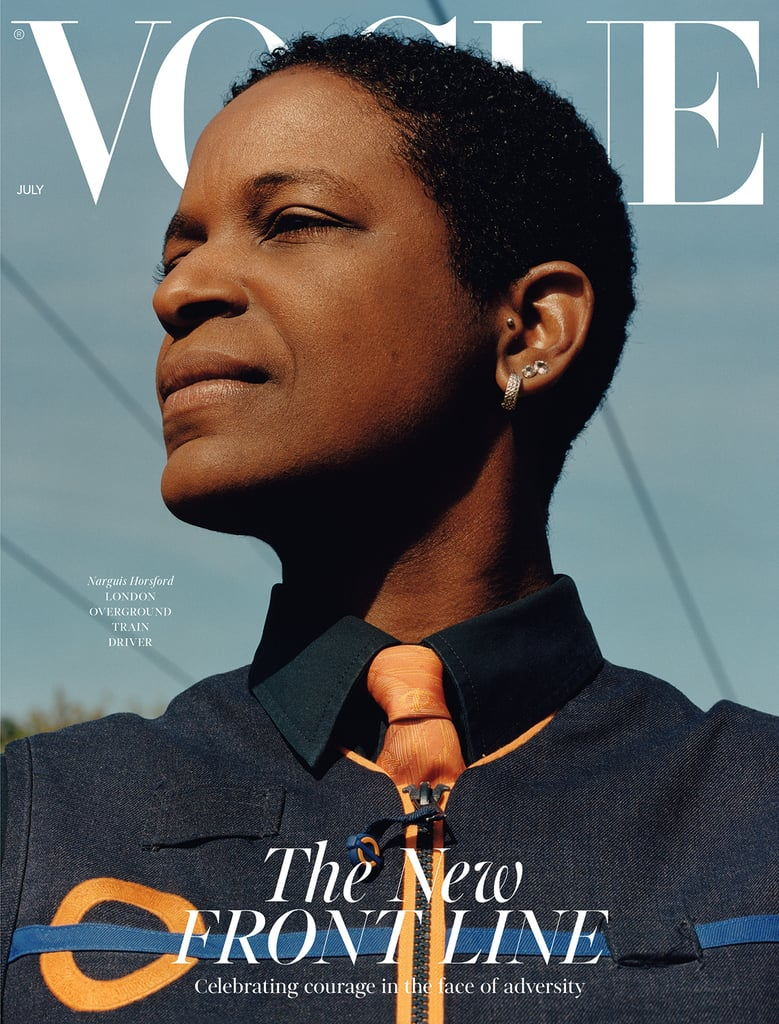 Narguis Horsford on the British Vogue July 2020 Cover