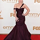 Kelly Osbourne walked the red carpet at the 2011 Emmy Awards.