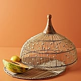 Annika Decorative Beaded Food Dome