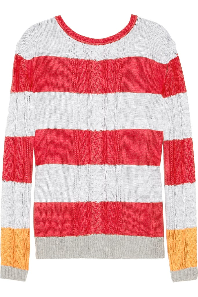 A rugby-striped sweater is great for work or the weekend, and we're especially loving the laid-back look of this slim-fitting Thakoon Addition Striped Cable-Knit Sweater ($285).