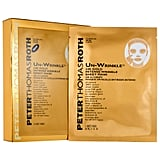 Best for: When you want to treat yourself. If you want to feel pampered during your next Parks and Recreation binge-a-thon, why not break out a product packed with gold? Peter Thomas Roth Un-Wrinkle 24K Gold Intense Wrinkle Sheet Mask ($68 for six masks) contains real 24-karat gold, which soothes skin and provides anti-inflammatory benefits. The ingredient list also features a wide range of peptides, which make your wrinkles fade and tighten any sagging.