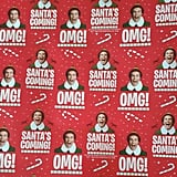 Elf Christmas Wrapping Paper