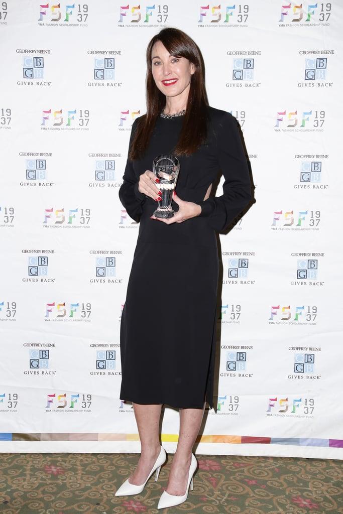 Tamara Mellon at the YMA Fashion Scholarship Fund Awards.