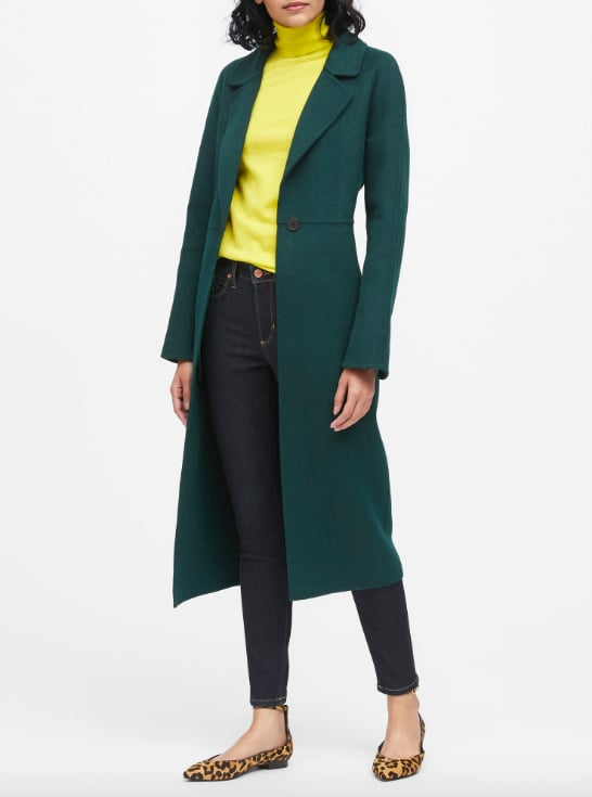 Unlined Double-Faced Maxi Coat