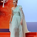 Diane Kruger made an entrance at the opening ceremony of the 65th annual Cannes Film Festival.