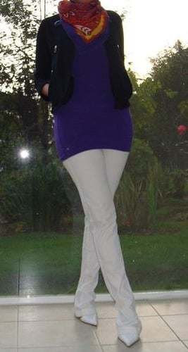 Look of the Day: Purple Pixie