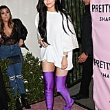 Kylie's Thigh-High Boots
