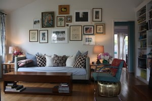 Su Casa: Minka's Updated Living Room