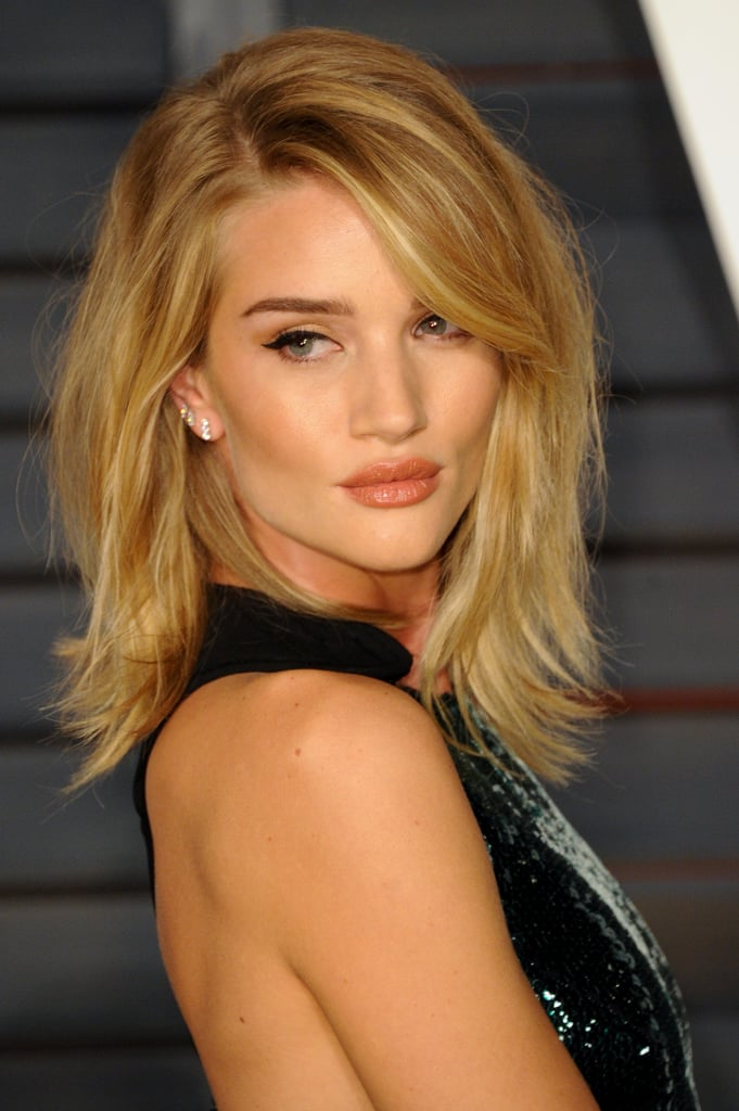 Rosie Huntington Whiteley Celebrities With The Clavicut Hairstyle