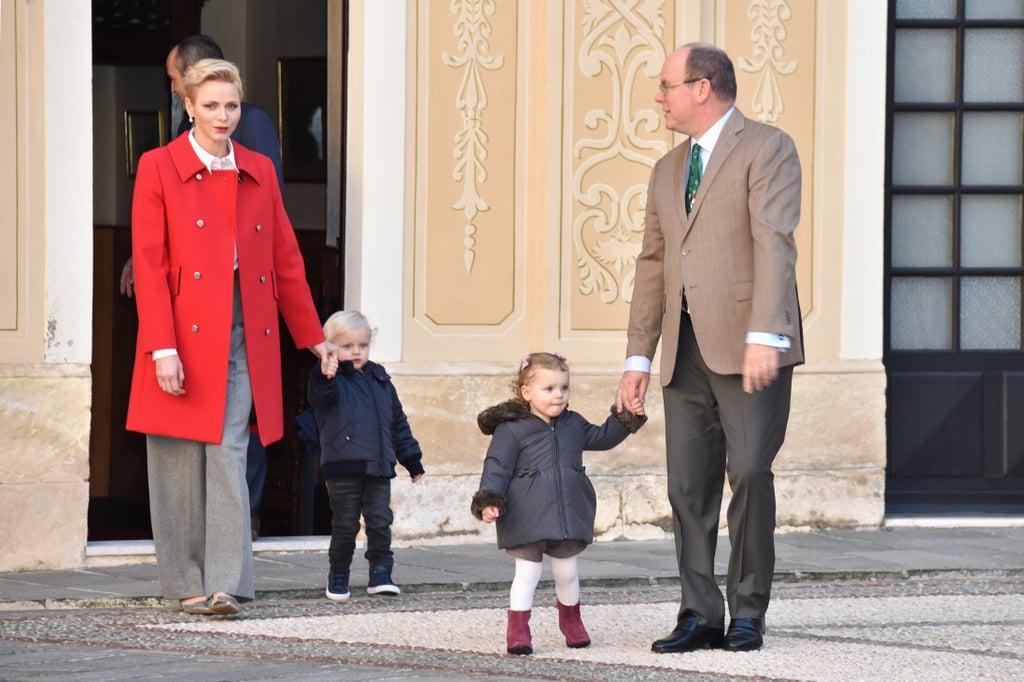 Princess Charlene and Family Christmas Event December 2016