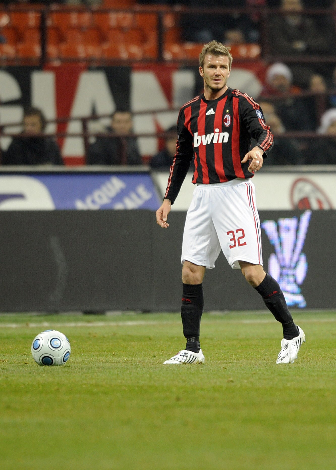 Photos of David Beckham Playing Soccer in Milan | POPSUGAR ...