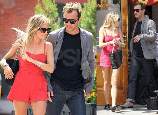 Photos of Jude Law and Sienna Miller in NYC