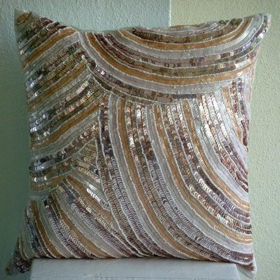 Glamorous Throw Pillow Covers ($32)