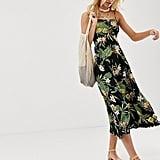 ASOS DESIGN Tropical Print Dress