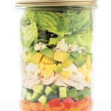 Meal Prep Is Made Easy With Cobb Salad in a Jar