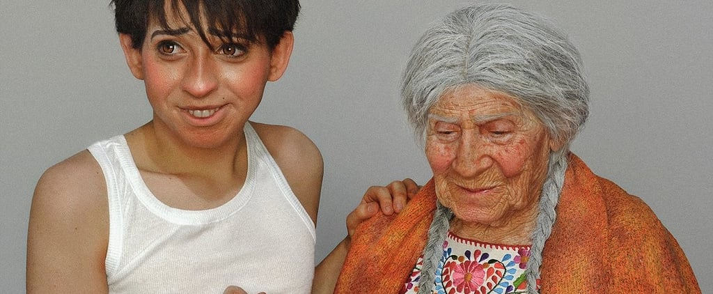 Man and Grandma Dress as Characters From Coco