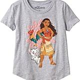Disney's Moana, Pua, and HeiHei Graphic Tee