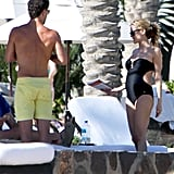 Kristin Cavallari on vacation in Mexico.