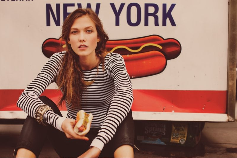 Karlie Kloss for Free People's January 2012 Campaign Shot in New York City by Guy Aroch: Too Cute!